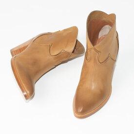 SARTORE | サルトルシューケアクリーム&クロス プレゼント ライトブラウン ウエスタン風 レディース ブーツ