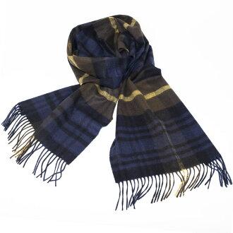 Johnstons | Johnston Gordon Type tartan check cashmere scarf stall