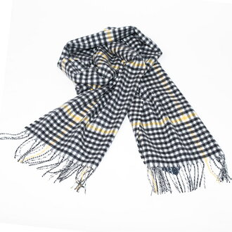 Johnstons | Johnston Boccleugh Check cashmere scarf stall