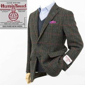 Style Edition|スタイルエディション Harris Tweed ハリスツイード ガンクラブチェック柄 2ボタン ジャケット
