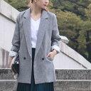 ☆☆「formom」さらりと羽織るジャケットが素敵レディース/ママ/ママコーデ/ビジネス/ブラック/グレー【F170930】