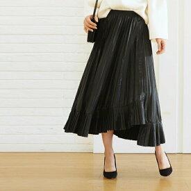 特別セール最大50%OFF【luxe】【通常価格22649円】「styleluxe」広がるアシメスカート【F170127】