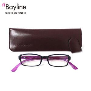 【プレミアム】老眼鏡 ネックリーダーズ ピンク 老眼鏡 おしゃれ 女性 男性 兼用 首かけ ブルーライトカット 機能付き リーディンググラス 軽量 度数 1.0 1.5 2.0 2.5 3.0 3.5 ブランド Bayline
