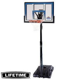 【代引不可】LIFETIME 本格ポータブルバスケットゴール LT-51550 高さ調節可能 自主練、シュート練習で差をつける!
