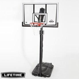 【代引不可】LIFETIME 本格ポータブルバスケットゴール LT-90061 高さ調節可能 自主練、シュート練習で差をつける!
