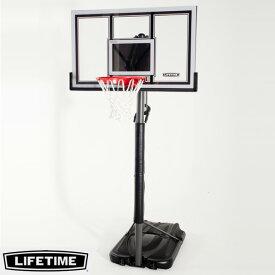 【代引不可】LIFETIME 本格ポータブルバスケットゴール LT-71524 高さ調節可能 自主練、シュート練習で差をつける!