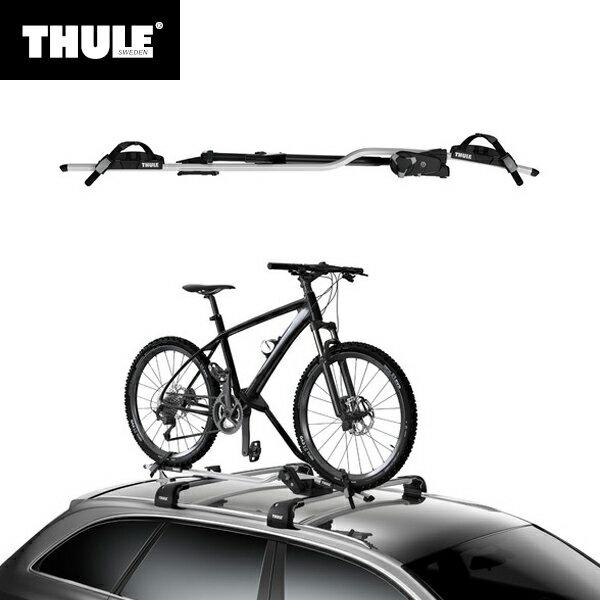 Thule(スーリー) ルーフマウントサイクルキャリア ProRide(プロライド) 598 シルバー TH598 自動車用 車載 屋根 自転車用キャリア 運搬 積載