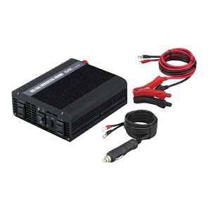大橋産業 BAL 3WAYインバーター No.1758 400W 12V車用 DC12V電源をAC100V/USBに変換 コンセント/シガーソケット/充電器/延長【あす楽15時まで】
