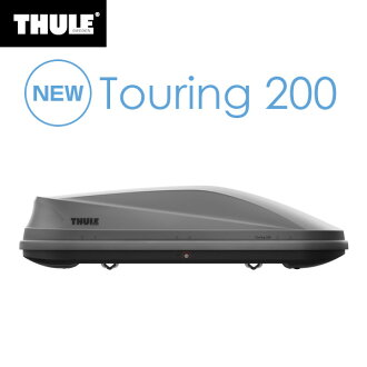 Thule(suri)屋顶箱Touring(旅游)200 chitanearosukin TH6342喷气背屋顶履历