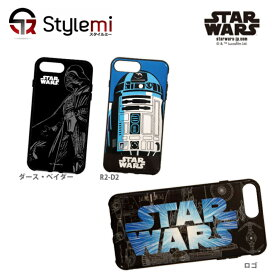 STAR WARS スターウォーズ iPhone 8 Plusケース公式ライセンス製品。イーフィット手になじむ形状の耐衝撃吸収アイフォンカバー iPhone/7/6s/6 Plusにも。キャラクター