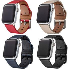グラマス アップルウォッチ ベルト 本革 イタリアンレザー 44mm/42mm用 と 40mm / 38mm用。表面に牛革を使用したシックで高級感のあるアップルウォッチ 交換用 バンドGRAMAS Apple Watch