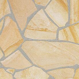 乱形石 ドイツ産 ソルンフォーヘン 厚手 0.5m2 0.5平米 1ケース 販売 束 乱形 石材 自然石 ソルンフォーフェン 乱形石材 ベージュ 黄色 庭 アプローチ ガーデニング 石 【送料無料】