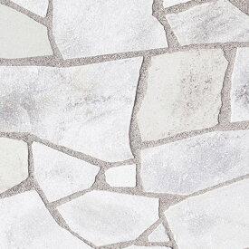 乱形石 白 ホワイト クリスタルホワイト 1ケース 販売 束 0.5m2 0.5平米 石英岩 自然石 庭 乱形 石材 石 クォーツサイト ダイヤモンドホワイト 乱形石材 庭 アプローチ ガーデニング 【送料無料】