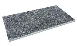 石材平板ギャラクシアンブラック300×600mm角(2枚入り)クォーツサイト黒ガーデニング敷石でお庭を!エクステリアDIY