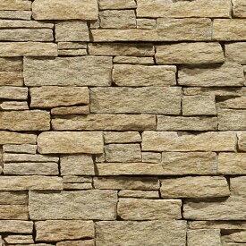 壁石 壁 石 貼り レッジストーン 壁石材 割肌 壁用石材 スタックストーン ラフベージュ パネル 3枚入 天然石 外壁 壁用 壁材 石張り 小端積み 石積み ボーダー ストーン