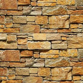 壁石 壁 石 貼り レッジストーン 壁石材 割肌 壁用石材 スタックストーン ラフブラウン パネル 3枚入 天然石 外壁 壁用 壁材 石張り 小端積み 石積み ボーダー ストーン