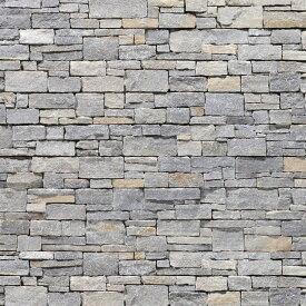 壁石 壁 石 貼り レッジストーン 壁石材 割肌 壁用石材 スタックストーン ラフグレイ パネル 3枚入 天然石 外壁 壁用 壁材 石張り 小端積み 石積み ボーダー ストーン