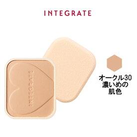 【あす楽】 資生堂 インテグレート プロフィニッシュファンデーション オークル30 濃いめの肌色 レフィル / ケース別売 SPF16 ・ PA++『0』