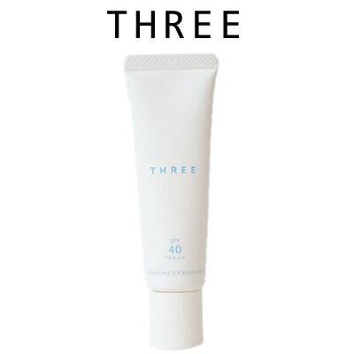 【あす楽】 THREE スリー バランシング UV プロテクターR 30ml [ ACRO / 化粧品 / SPF40・PA+++ / 日焼け止め ]『0』