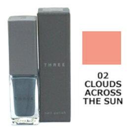 THREE スリー ネイルポリッシュ 7ml 【02 CLOUDS ACROSS THE SUN】[ ACRO / ネイル / マニキュア ]【取り寄せ商品】【ID:0129】『0』