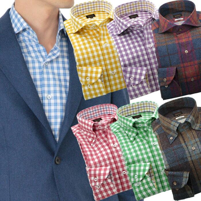6705378ce5172 楽天市場  送料無料  国産長袖オリジナルドレスシャツ ボタンダウン ...