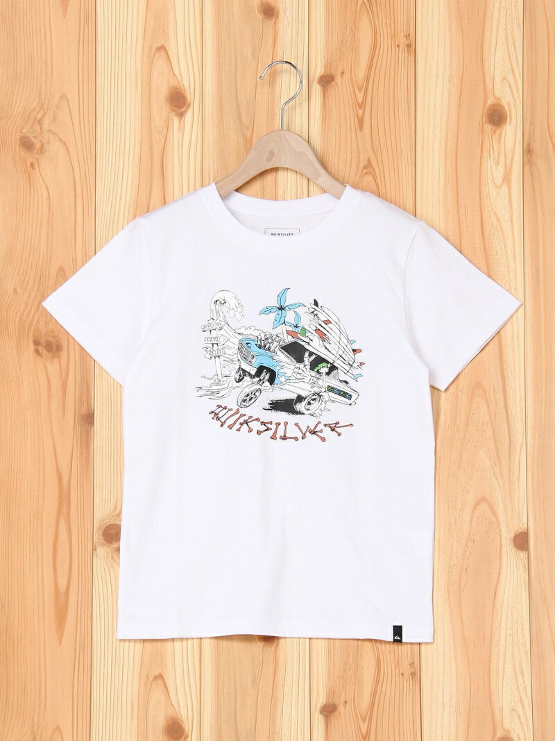 【SALE/50%OFF】QUIKSILVER (K)DAYS ON ST KIDS クイックシルバー カットソー【RBA_S】【RBA_E】