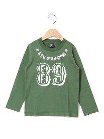 【SALE/60%OFF】天竺ナンバーTシャツ ベベ オンライン ストア カットソー【RBA_S】【RBA_E】