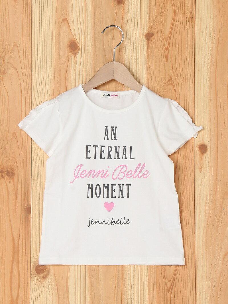JENNI belle JENNI belle/ショルダーフリルTシャツ ジェニィ カットソー