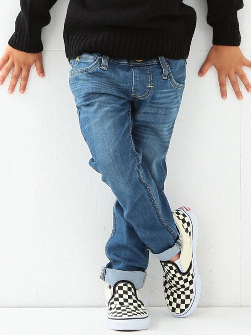 B:MING by BEAMS Lee リー / リブストレッチテーパードパンツ BEAMS ビームス リー デニム lee キッズ ビーミング ライフストア バイ ビームス パンツ/ジーンズ【送料無料】