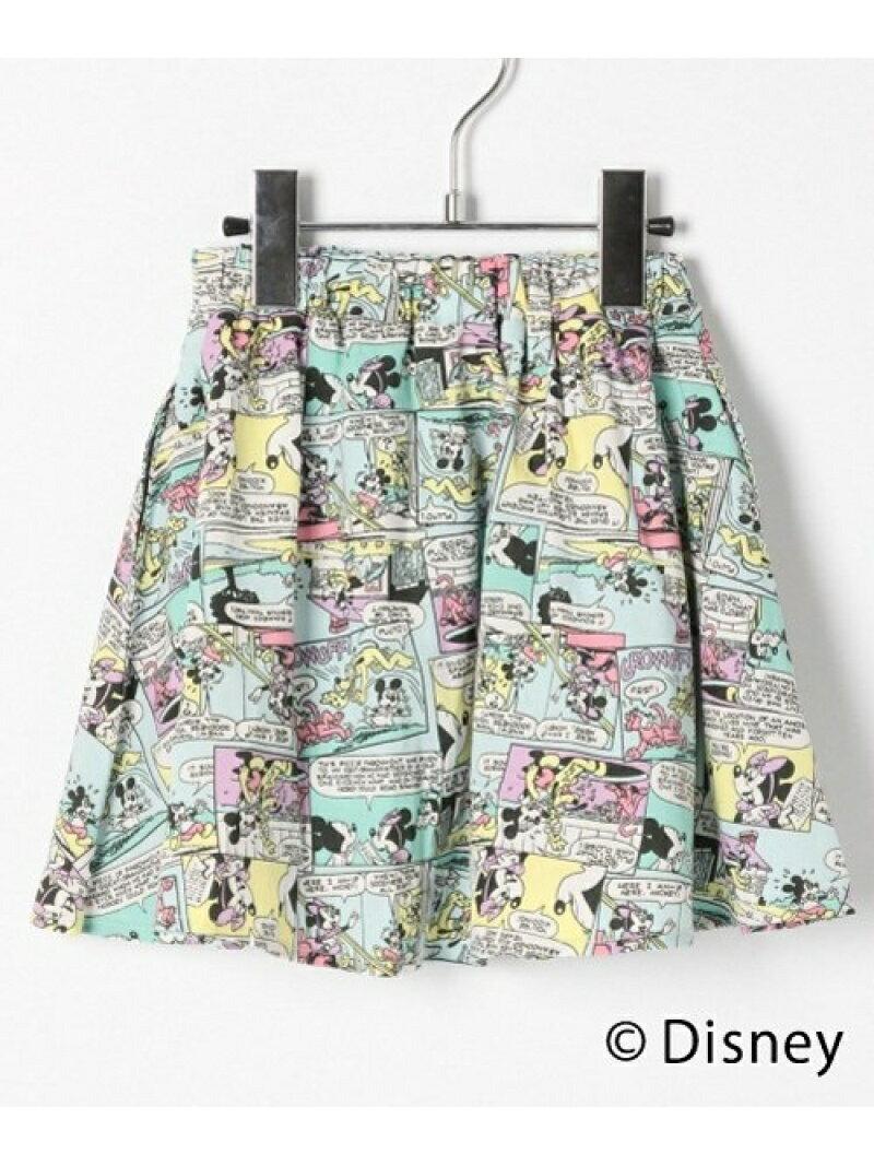 【SALE/20%OFF】GLOBAL WORK (K)Disneyギャザースカート グローバルワーク スカート【RBA_S】【RBA_E】