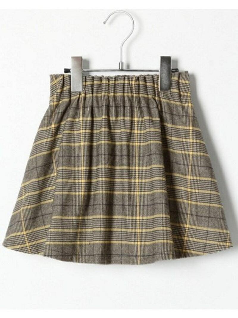 GLOBAL WORK (K)ギャザーフレアSK/ガラ グローバルワーク スカート