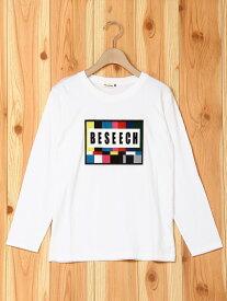 【SALE/40%OFF】カラーバープリント長袖Tシャツ ブランシェス カットソー【RBA_S】【RBA_E】