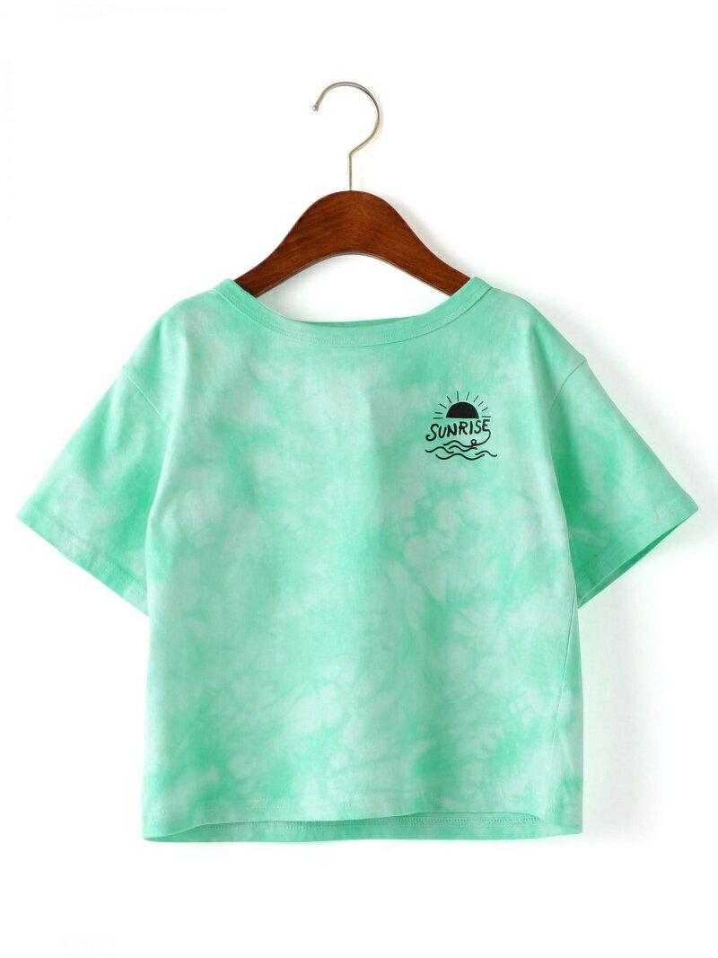 【SALE/50%OFF】UNITED ARROWS green label relaxing シボリゾメ ボートネック Tシャツ ショートスリーブ ユナイテッドアローズ グリーンレーベルリラクシング カットソー【RBA_S】【RBA_E】