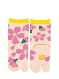 カヤ 舞い桜チビ足袋15~17cm チャイハネ ファッショングッズ