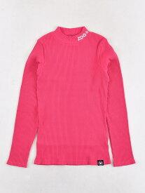【SALE/60%OFF】ZIDDY 刺繍 ロゴ ネオンカラー ハイネック Tシャツ(130cm~160cm) ベベ オンライン ストア カットソー Tシャツ ピンク イエロー【RBA_E】