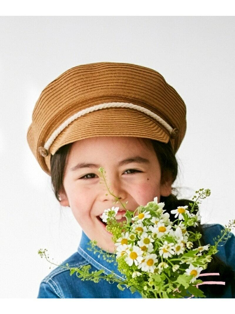 【SALE/50%OFF】HusHusH(Kids) ブレードマリンキャスケット ハッシュアッシュ 帽子/ヘア小物【RBA_S】【RBA_E】