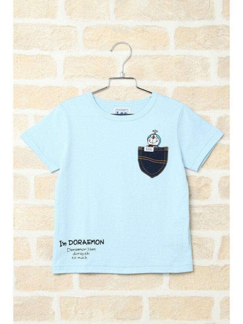 ikka kids 【キッズ】Lee I'm Doraemon ポケットシャツ(110~140cm) イッカ カットソー【送料無料】