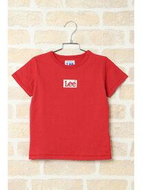 ikka kids 【キッズ】Lee Box samll ロゴTシャツ(110~140cm) イッカ カットソー