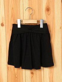 Milkiss ウエストリボンスカート ミルキス スカート キッズスカート ブラック ネイビー ホワイト ピンク