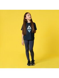 Columbia 【KIDS】トゥルーリトレイルズプリンティングレギング コロンビア ファッショングッズ タイツ/レギンス ネイビー ブラック ピンク