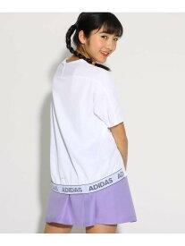 PINK-latte adidas【UVカット】IDライトTシャツ ピンク ラテ カットソー【RBA_S】
