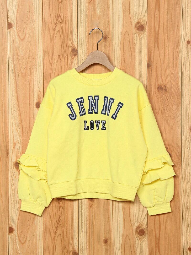 JENNI love JENNI love/スリーブフリルトレーナー ジェニィ カットソー【送料無料】