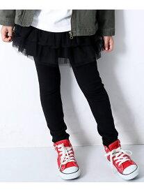 devirock 10分丈チュチュスカッツ 女の子 ベビー ボトムス スカート デビロックストア 子供服 キッズ デビロック パンツ/ジーンズ パンツその他 ブラック グレー ネイビー パープル ピンク ホワイ