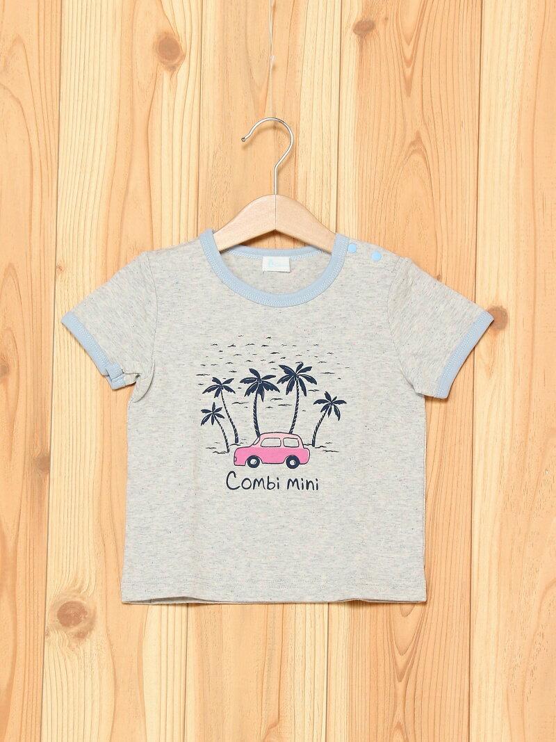 【SALE/40%OFF】Combi mini シーサイドTシャツ コンビミニ カットソー【RBA_S】【RBA_E】