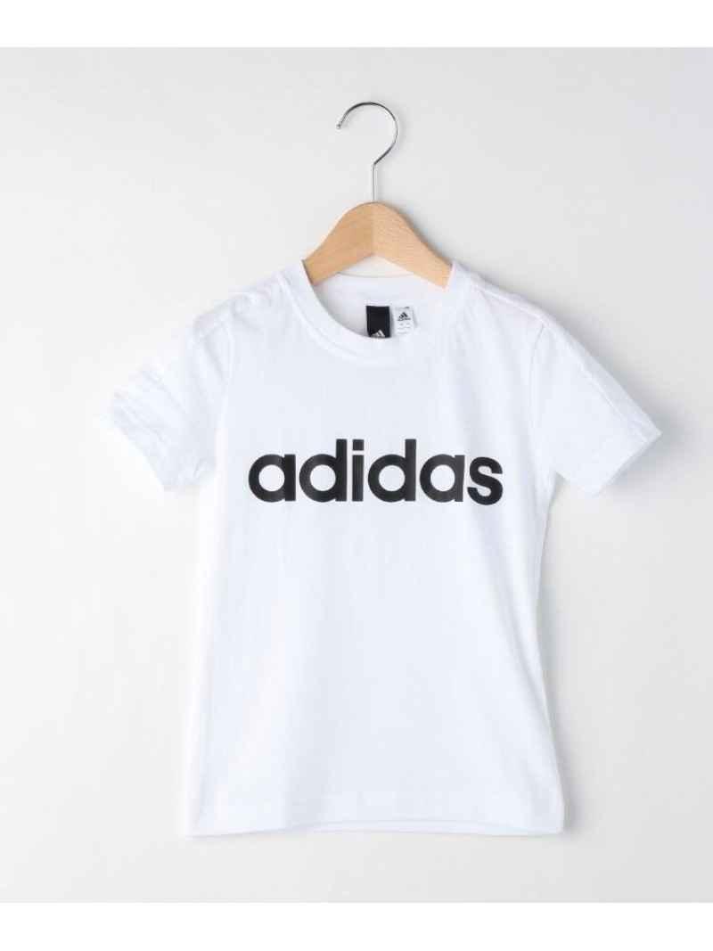 HusHusH(Kids) 【110-160cm】adidas ロゴTシャツ ハッシュアッシュ カットソー
