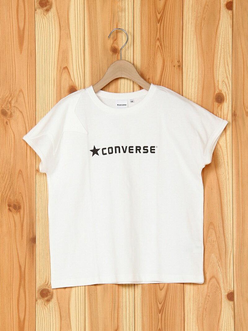 ★CONVERSE 【★CONVERSE】星モチーフ半袖Tシャツ ブランシェス カットソー