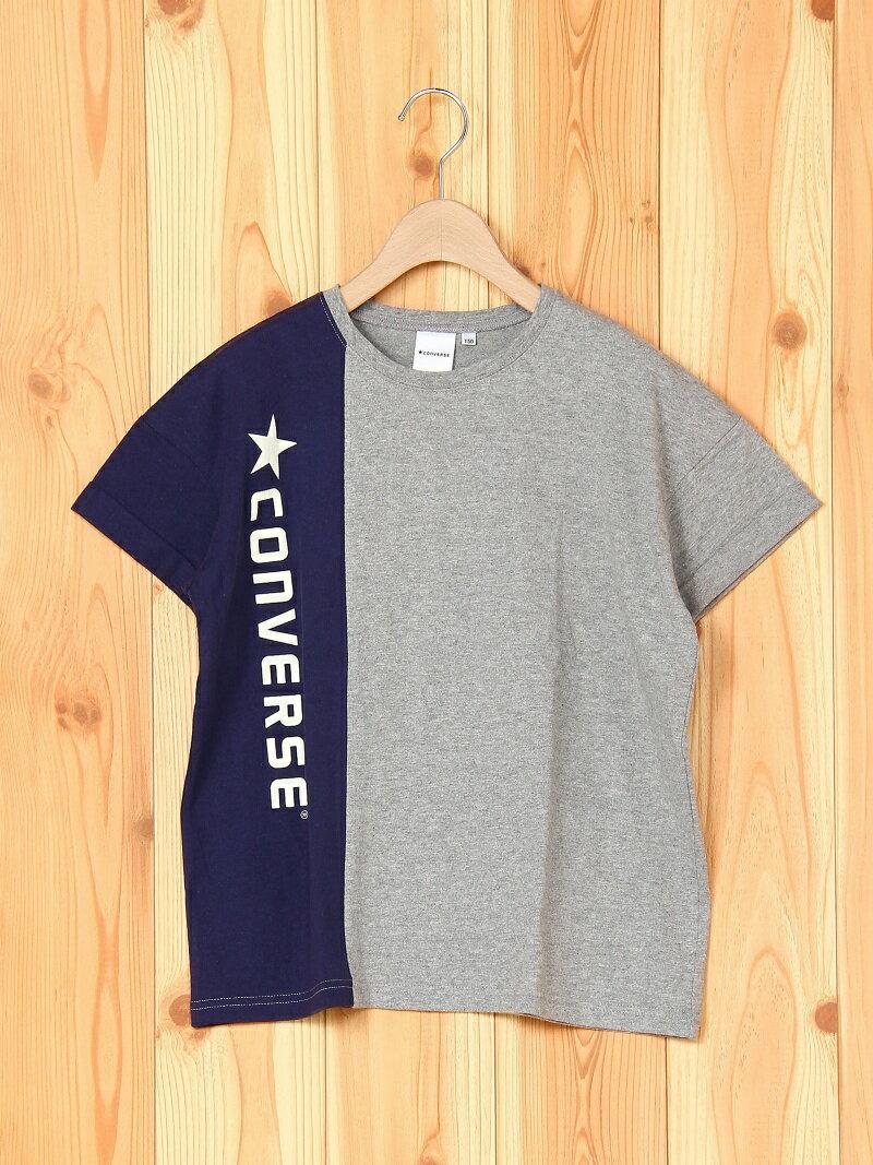 ★CONVERSE 【★CONVERSE】配色切り替え半袖Tシャツ ブランシェス カットソー