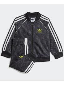 【SALE/60%OFF】adidas Originals SST セットアップ(ジャージ上下セット)アディダスオリジナルス(キッズ/子供用) アディダス カットソー キッズカットソー ブラック【RBA_E】
