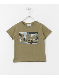 【SALE/30%OFF】DOORS LEEKIDSLeeBOXロゴ迷彩Tシャツ(KIDS) アーバンリサーチドアーズ カットソー【RBA_S】【RBA_E】