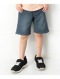 devirock デニムハーフパンツ 男の子 女の子 ズボン 全3色 デビロック パンツ/ジーンズ【RBA_S】